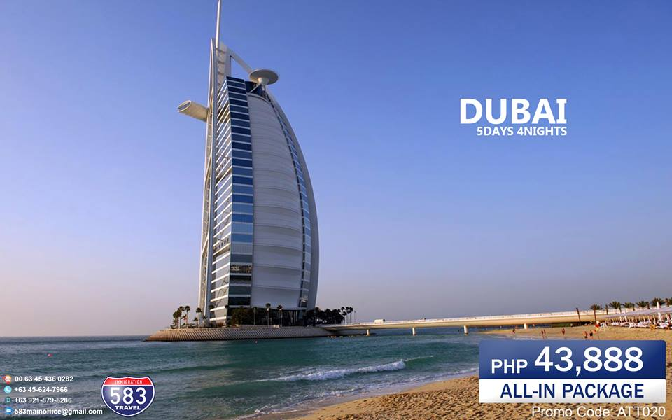 5D4N DUBAI PACKAGE