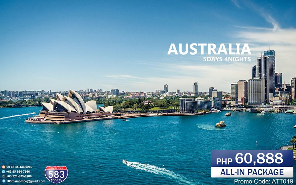 5Days 4Nights Sydney Australia All In Package